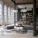 decoracion interiores estilo-industrial-interiorismo loft mexico